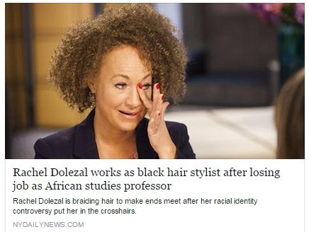 Rachel Dolezal exiled