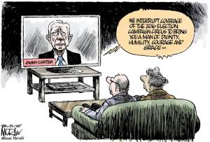 Miami Herald Jimmy Carter Cartoon