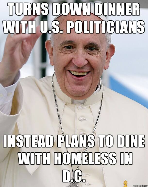 Love the Pope - Hate the Hypocrisy
